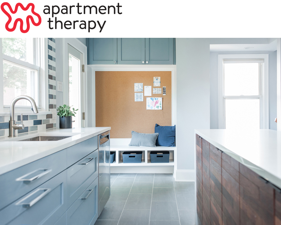 The Franklin Avenue Renovation is featured on  Apartment Therapy