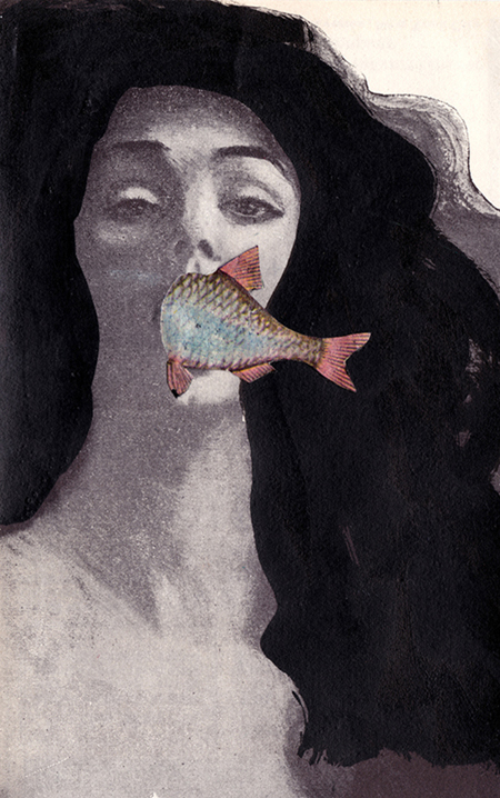 Drawing of the day , 2011-2012, mixed media collage
