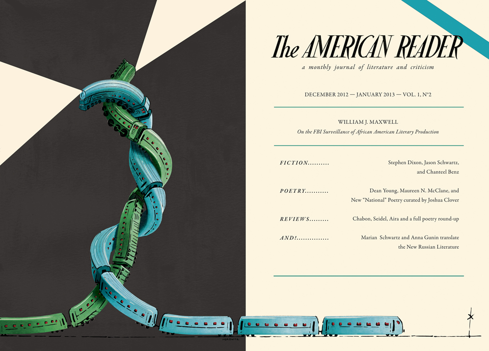 The American Reader cover issue 2  , 2013