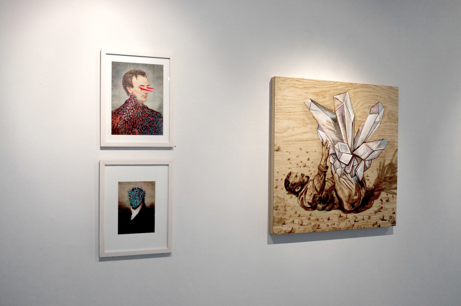 Ceremony Interrupted  Solo Exhibition, Karen Huber Gallery 2014 Mexico City