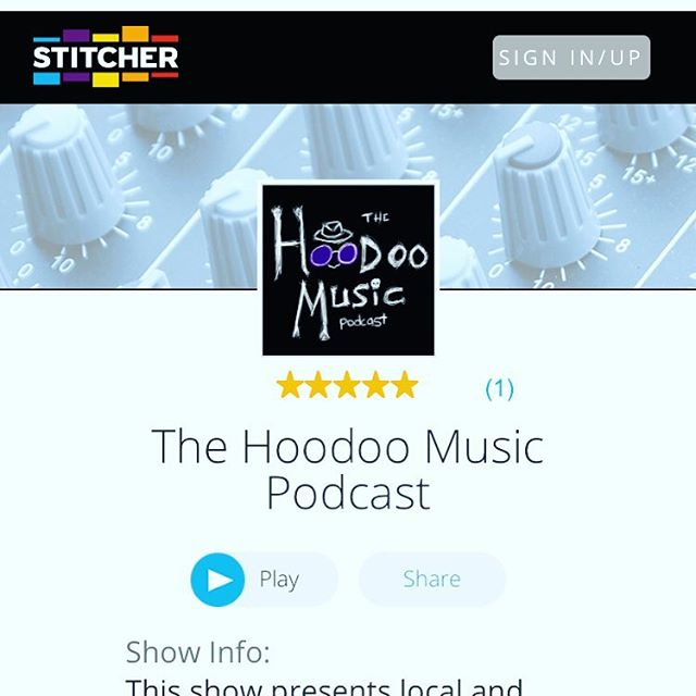 Look what's finally back on @stitcherpodcasts! #subscribe #music #podcast