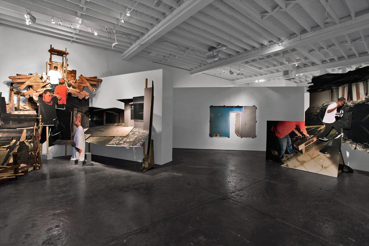 "MICHAEL VASQUEZ  ""Rites of Passage"" Installation Image  Fredric Snitzer Gallery 2012"