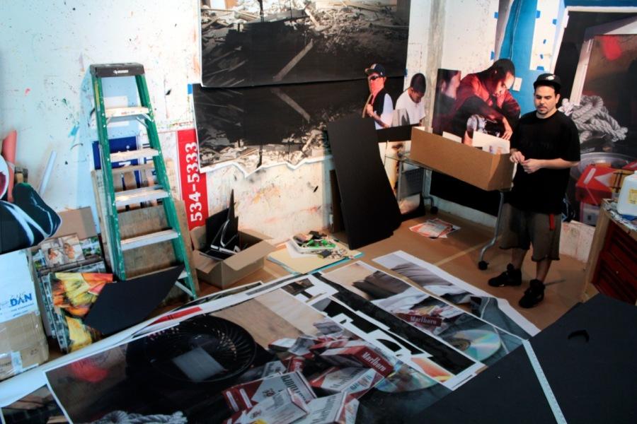 MICHAEL VASQUEZ   Studio   Miami, FL   January 2012