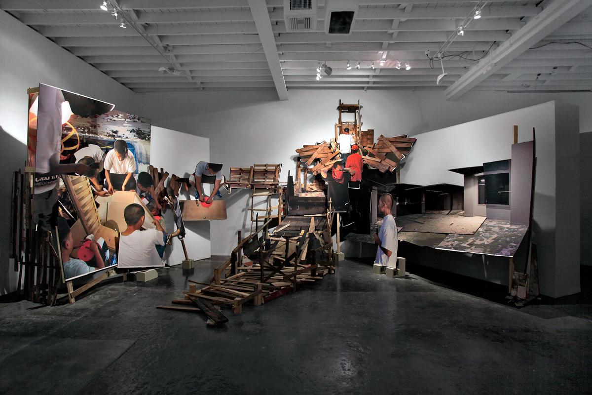 MICHAEL VASQUEZ | Rites of Passage | Installation Image | Fredric Snitzer Gallery | 2012