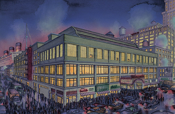 Madison Square Garden  By Daniel John Campbell  595 signed and numbered prints