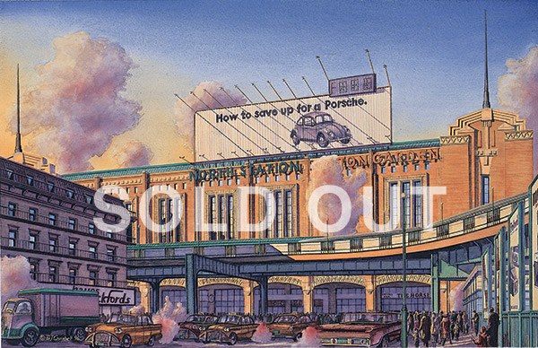 Boston Garden  By Daniel John Campbell  595 signed and numbered prints     Sold Out