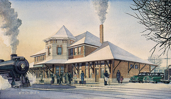 Strathcona Station   by Daniel John Campbell    295 signed and numbered prints