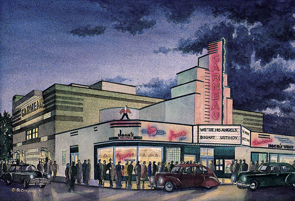 Garneau Theatre  by Daniel John Campbell  295 signed and numbered prints