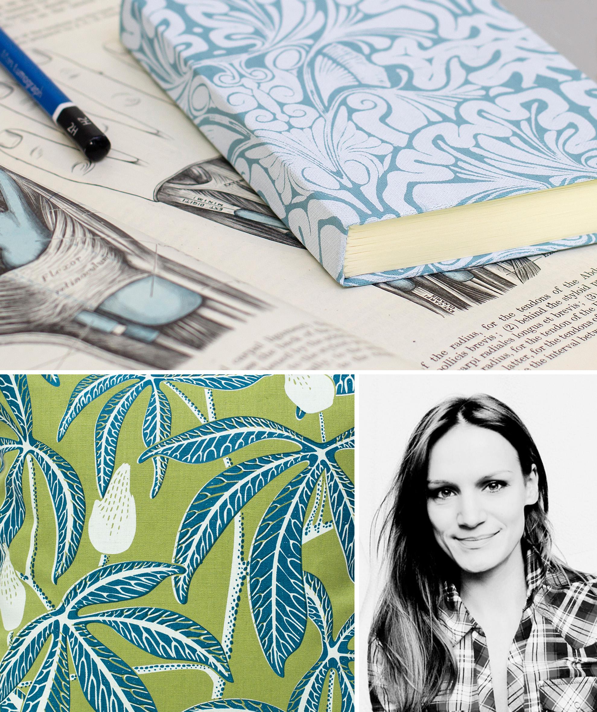 Fanny Shorter Hand Printed Fabrics Furnishings UK England Britain London