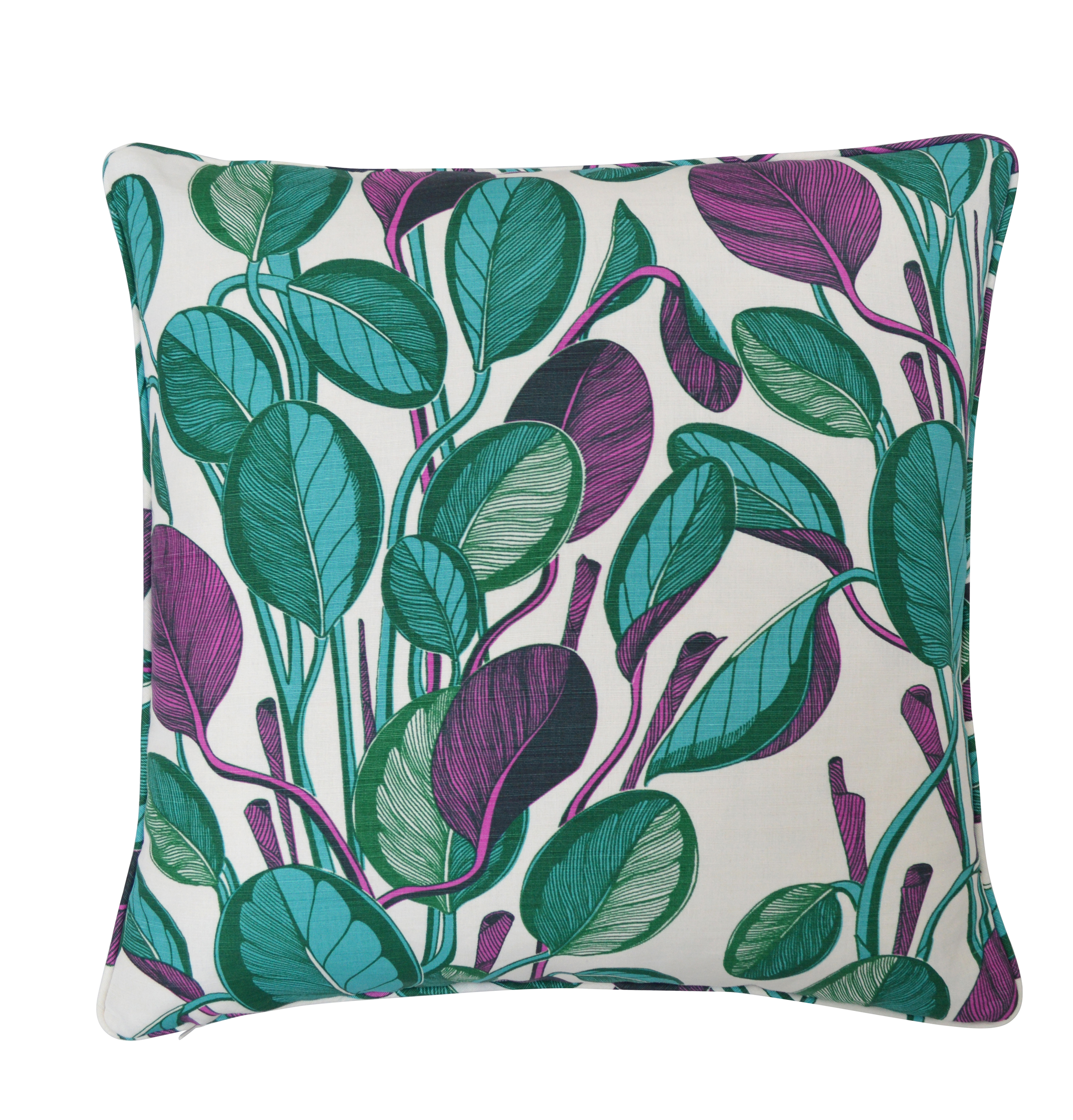 CALATHEA Large Cushion | Magenta