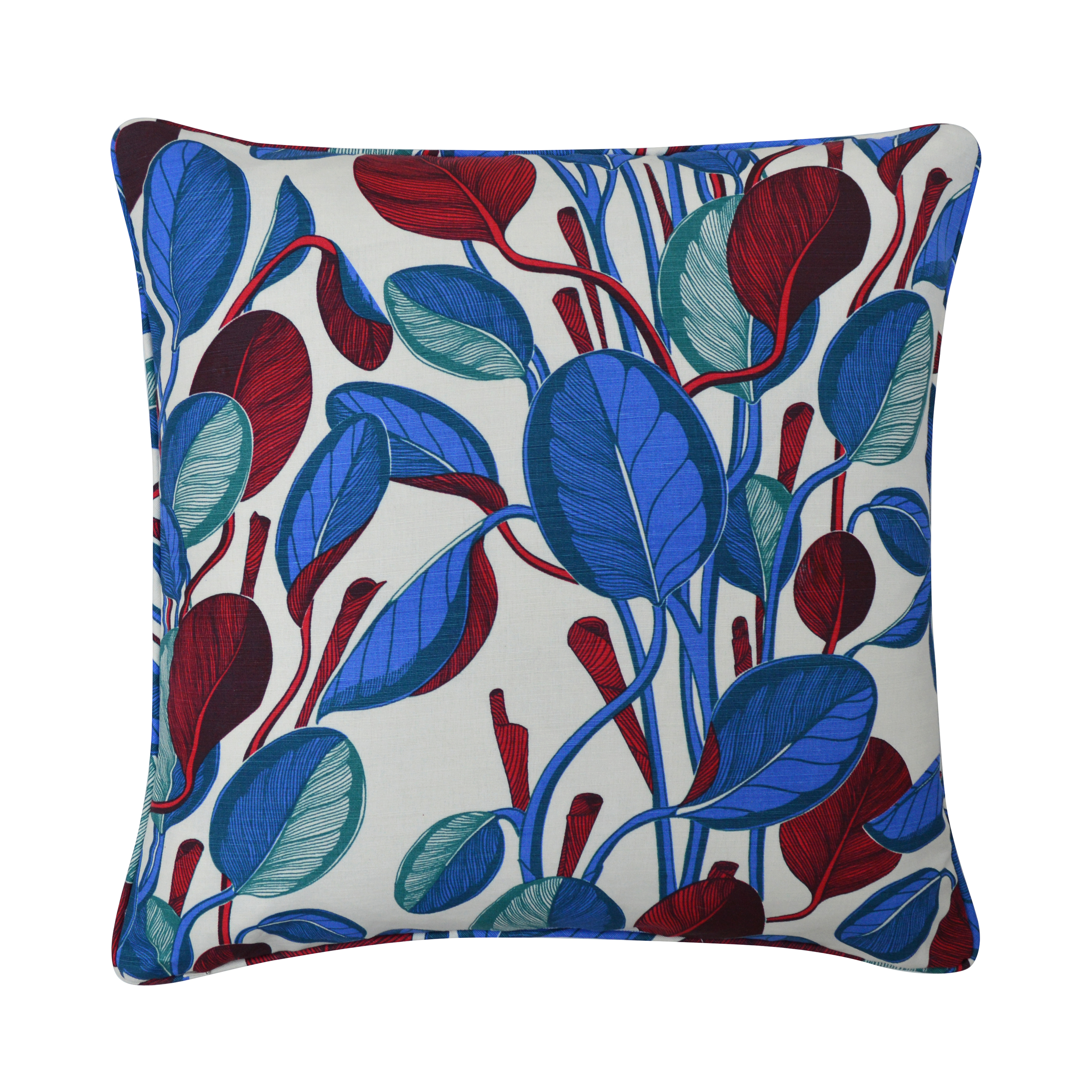 CALATHEA Large Cushion | Cobalt