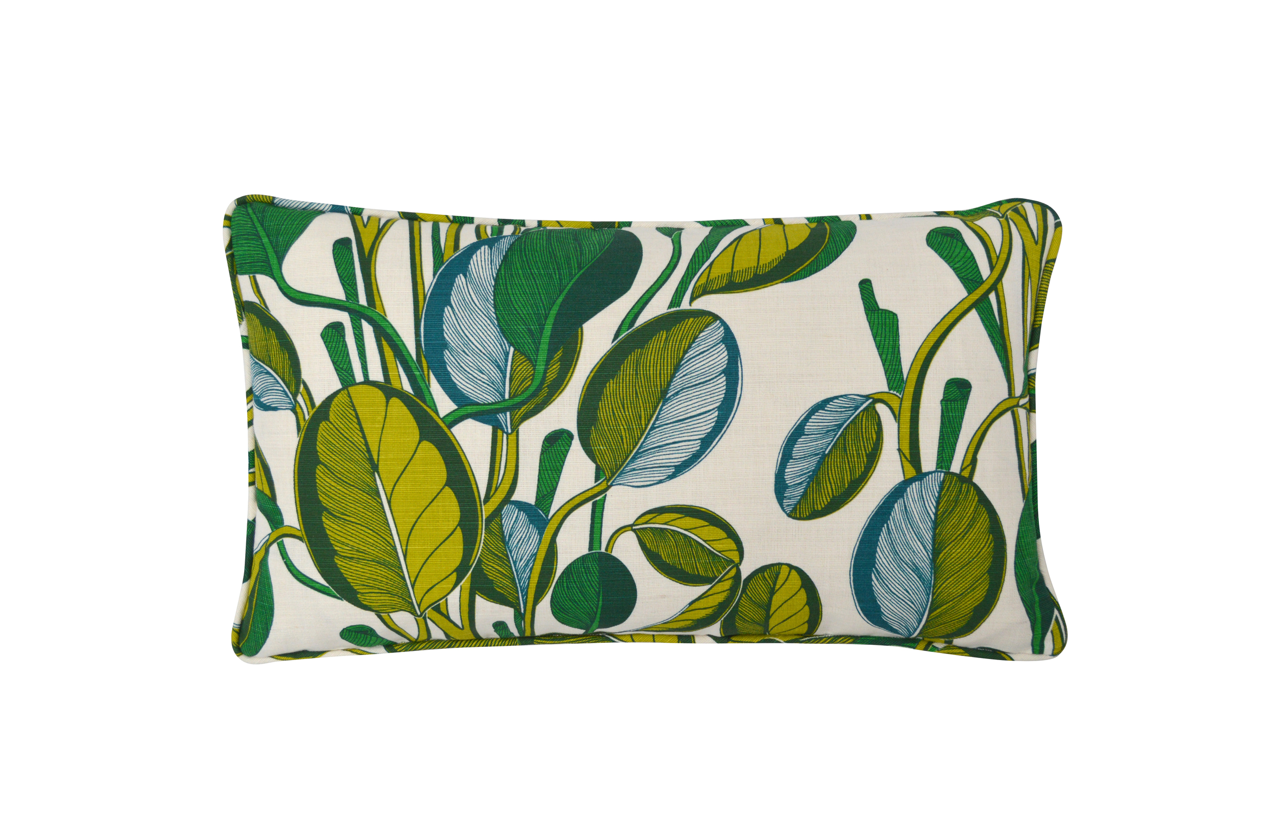 CALATHEA Small Cushion | Chartreuse