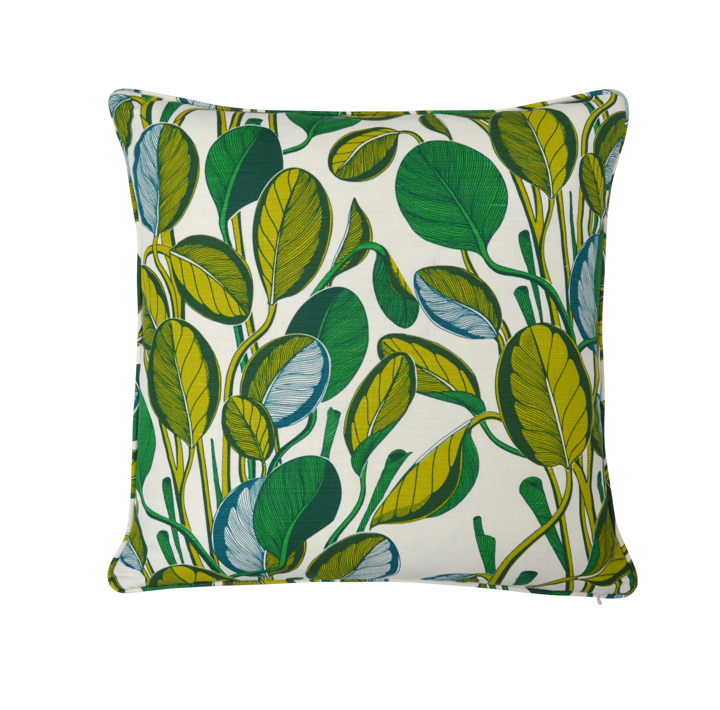 CALATHEA Large Cushion | Chartreuse