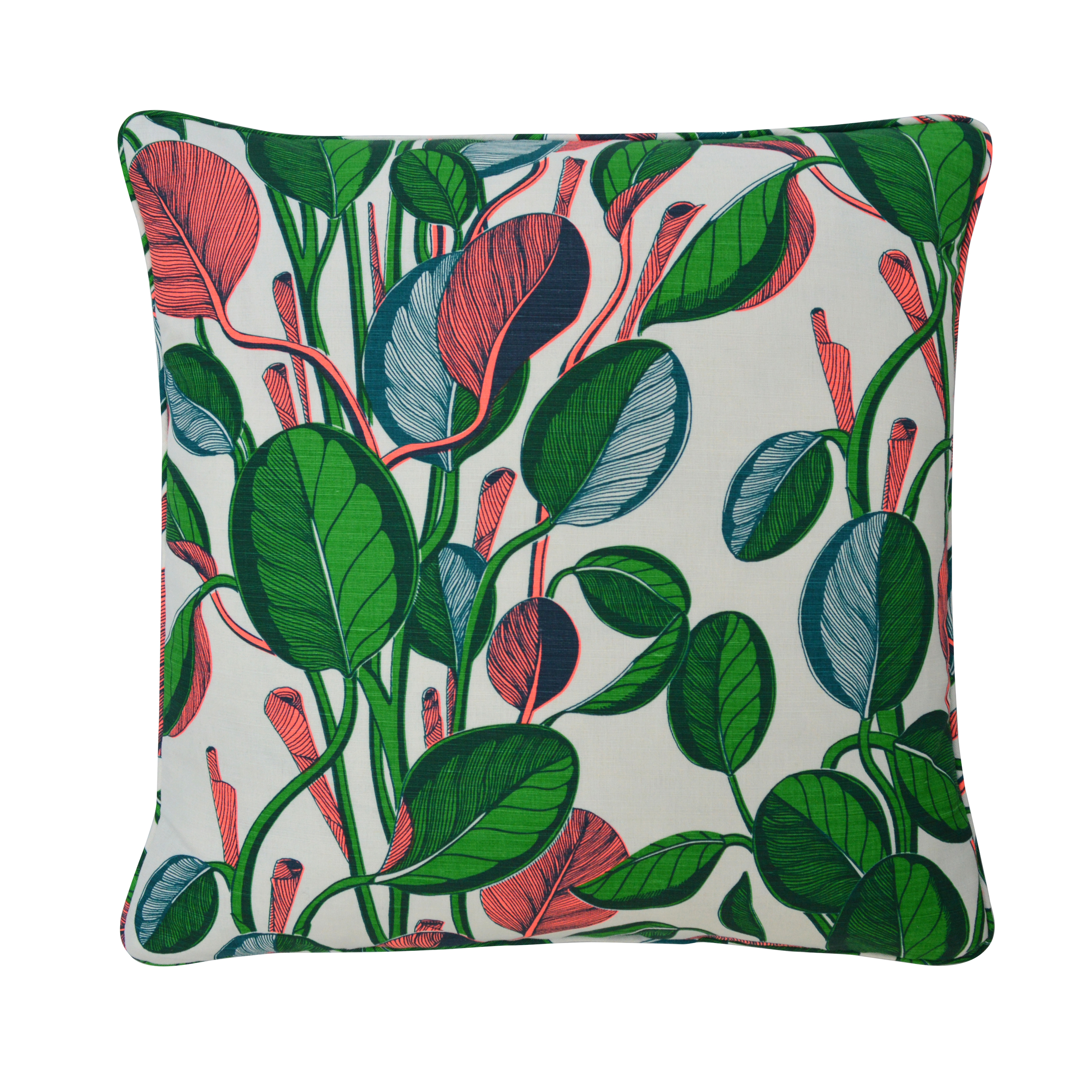 CALATHEA Large Cushion | Neon