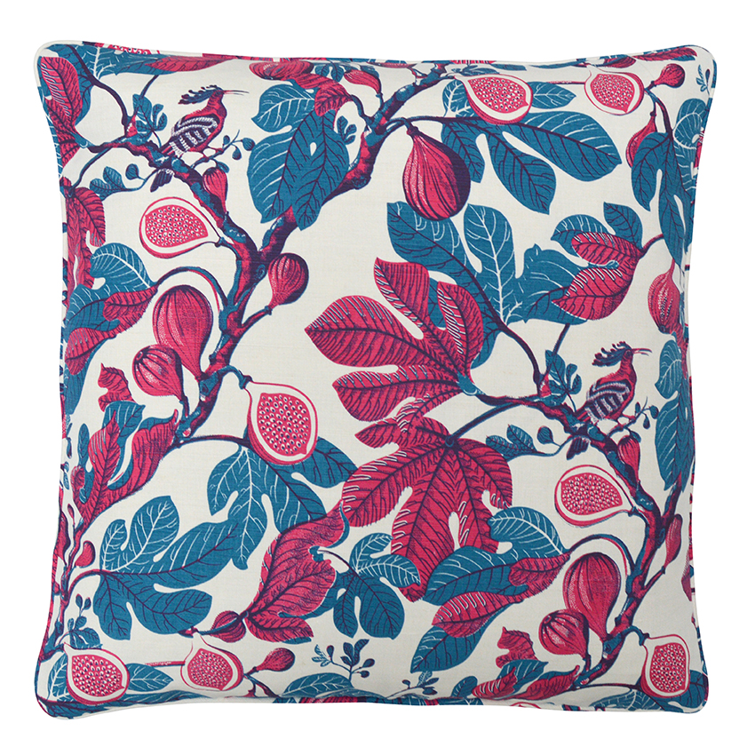 FIG Large Cushion | Fuchsia