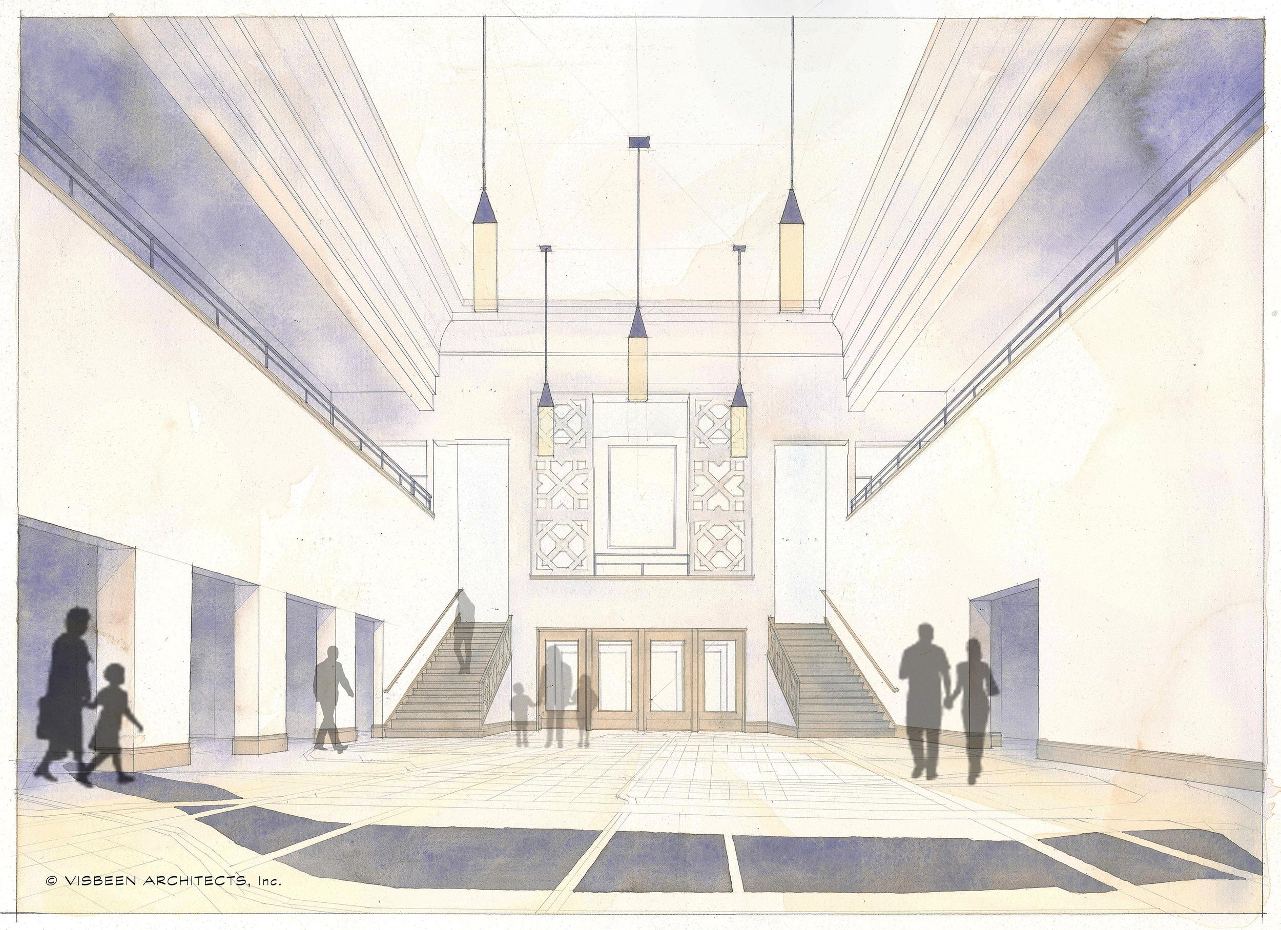 54 Jefferson - Interior Concept