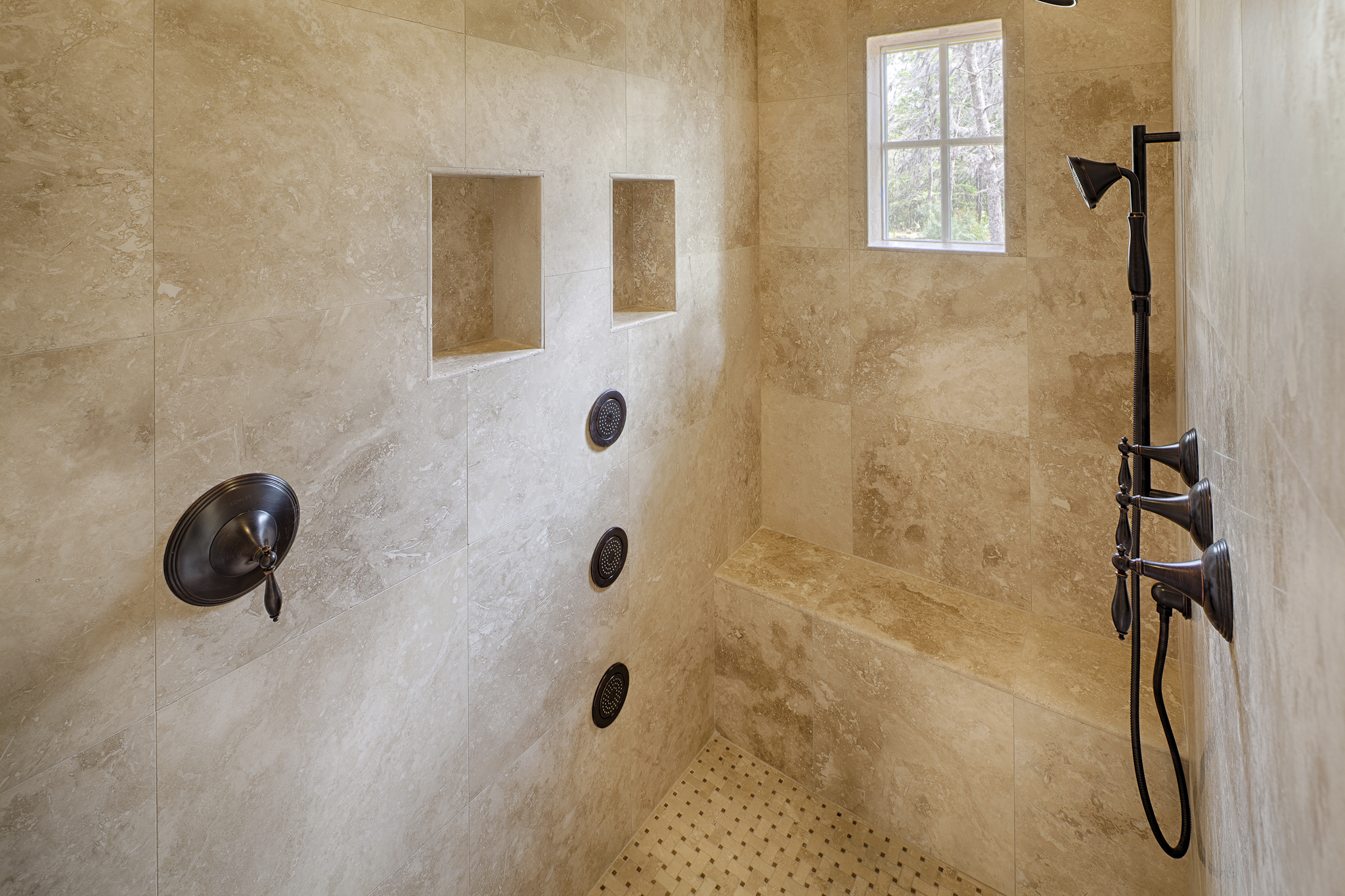 Georgetown Master Shower