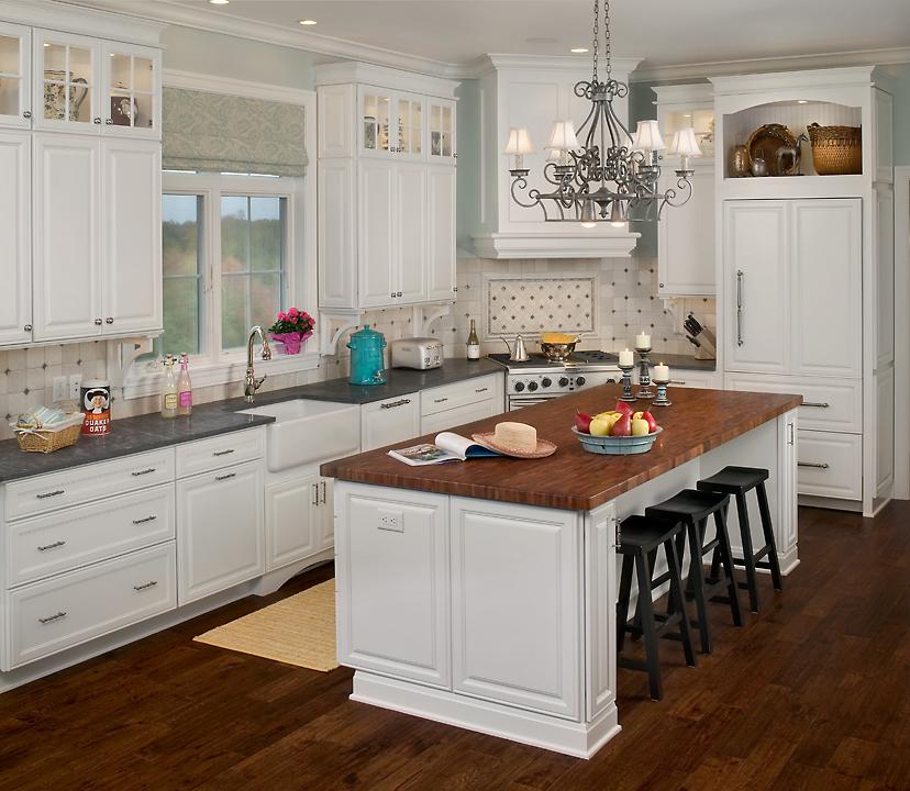 Arcadia Waterfront Cottage White Kitchen.jpg