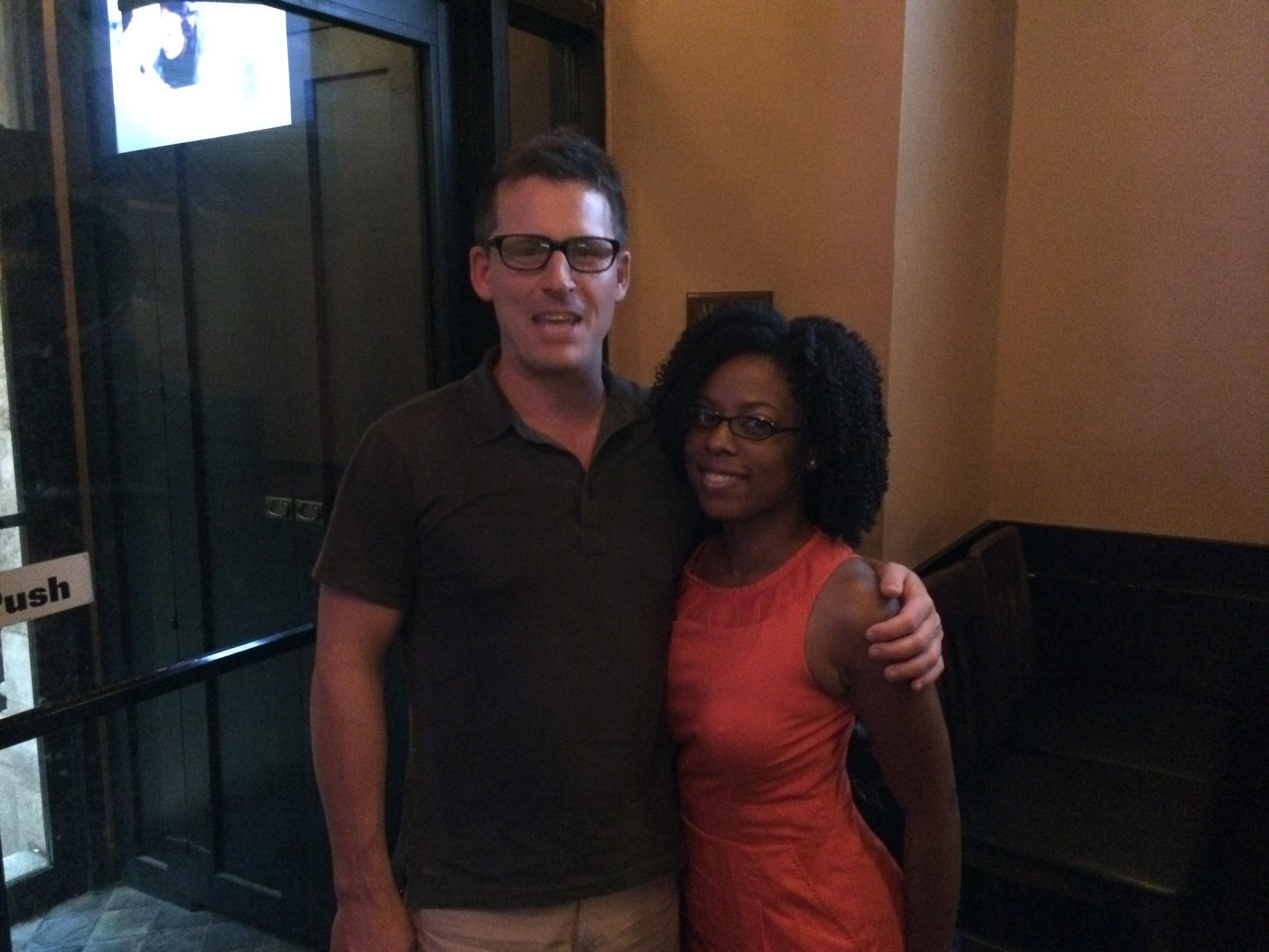 Delisha Grant and Guest