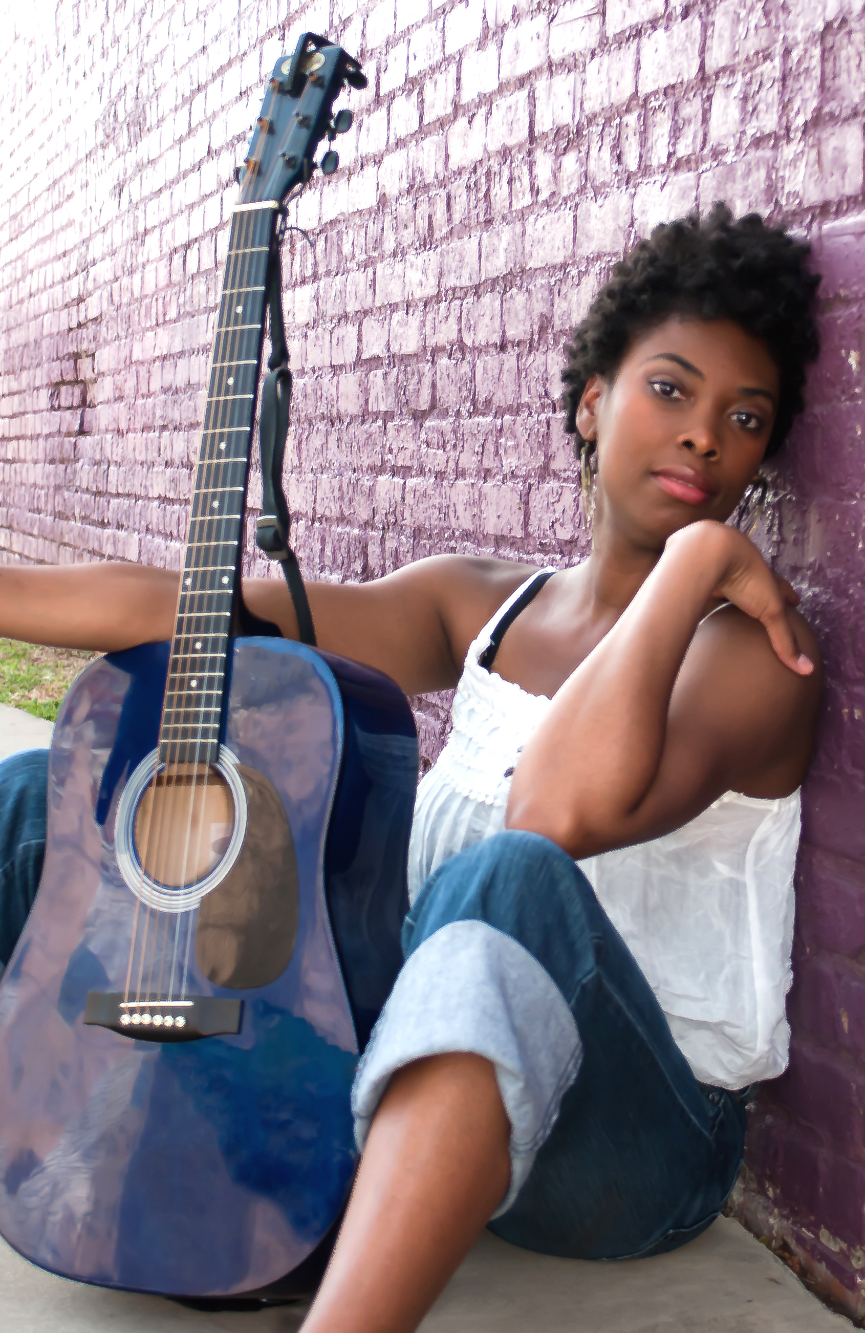 My first photo shoot in Charlotte, when I had no idea how things would turn out!