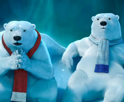 One campaign in France in the first quarter of 2013 to reintroduce Coke's polar bears