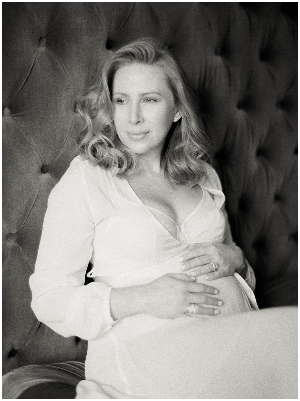 New York City in Home Maternity Session