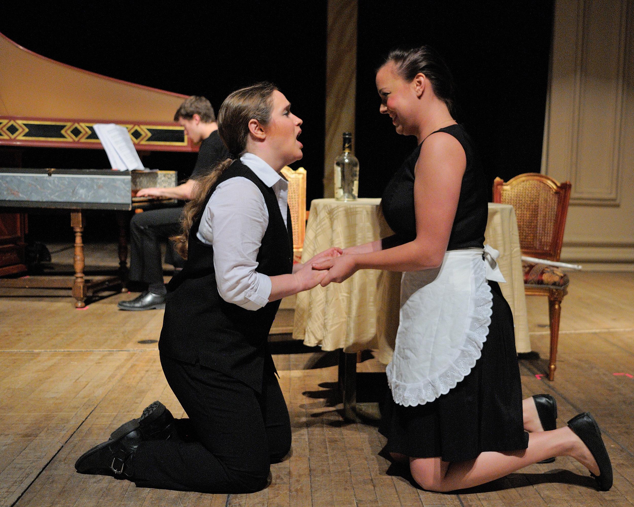 L'Incoronazione di Poppea , Peabody Conservatory, October 2013 - with soprano Rebecca Wood