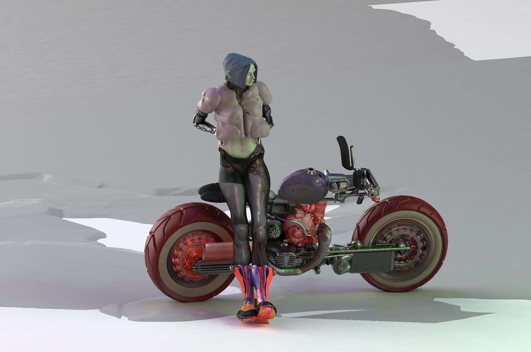 Max Brazier-Jones biker gal.jpg