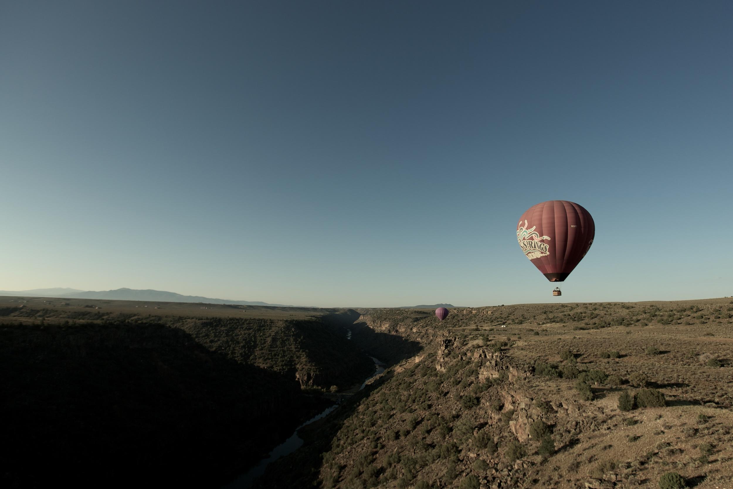 First Hot Air Balloon Ride