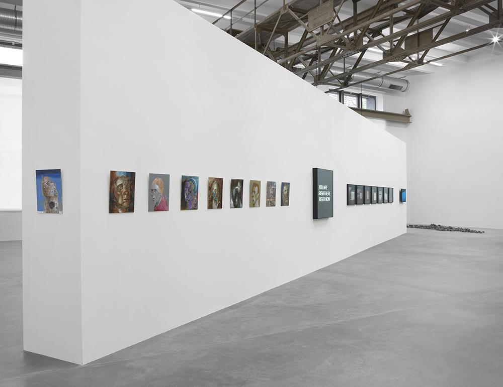 How Long Is Now?, Ausstellungsansicht, Maschinenhaus M0,Foto: Jens Ziehe, 2016