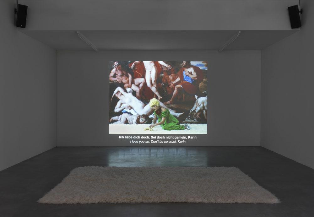 Ming Wong / The Island of Lost Souls:  Lehre Deutsch mit Petra von Kant , 2017, Video,Ausstellungsansicht  Up And Down , Maschinenhaus M1,Foto: Jens Ziehe, 2017