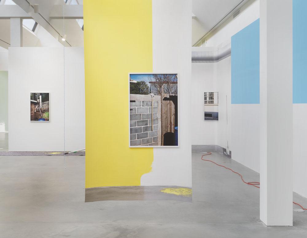 Kathrin Sonntag  Things Doing Their Thing,  Ausstellungsansicht KINDL – Zentrum für zeitgenössische Kunst, Berlin (9. September 2018 – 27. Januar 2019); Foto: Jens Ziehe