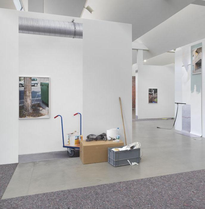 Kathrin Sonntag,  Things Doing Their Thing,  Ausstellungsansicht KINDL – Zentrum für zeitgenössische Kunst; Foto: Jens Ziehe, 2018