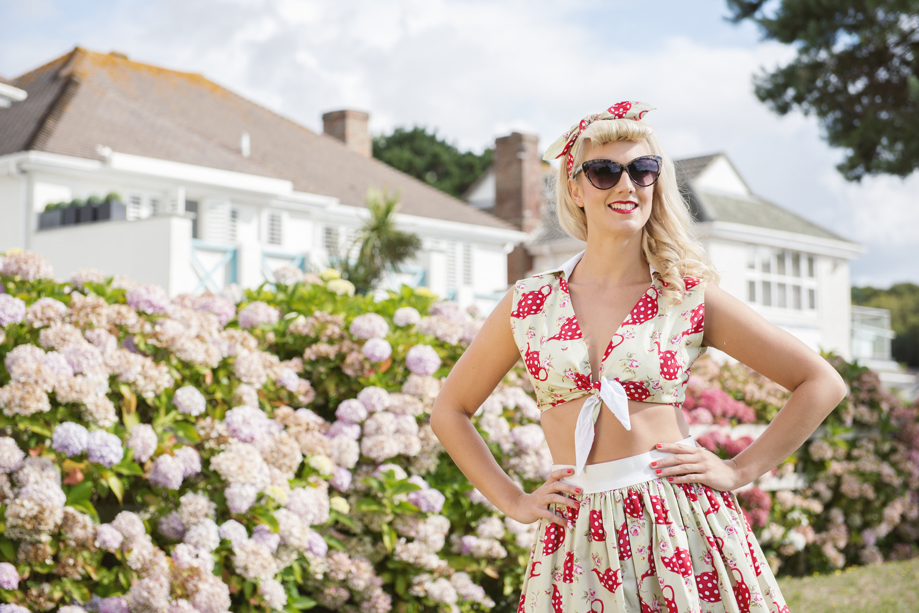 Vintage Hen Party in Brighton. Hair, Make Up and Photoshoot