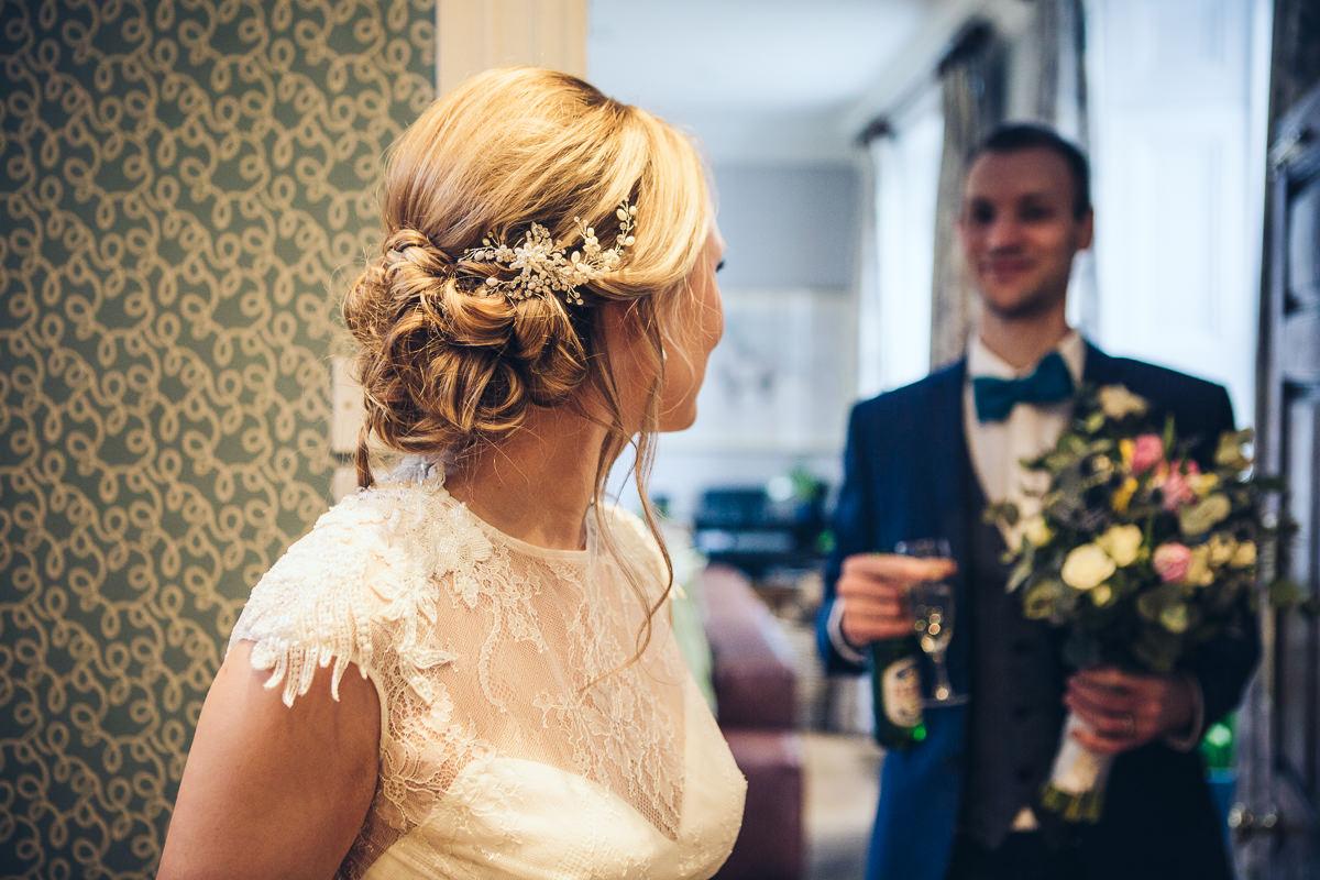 Bridal hair By Sarah, Photography by Sam Pharoah at https://www.sampharoah.com