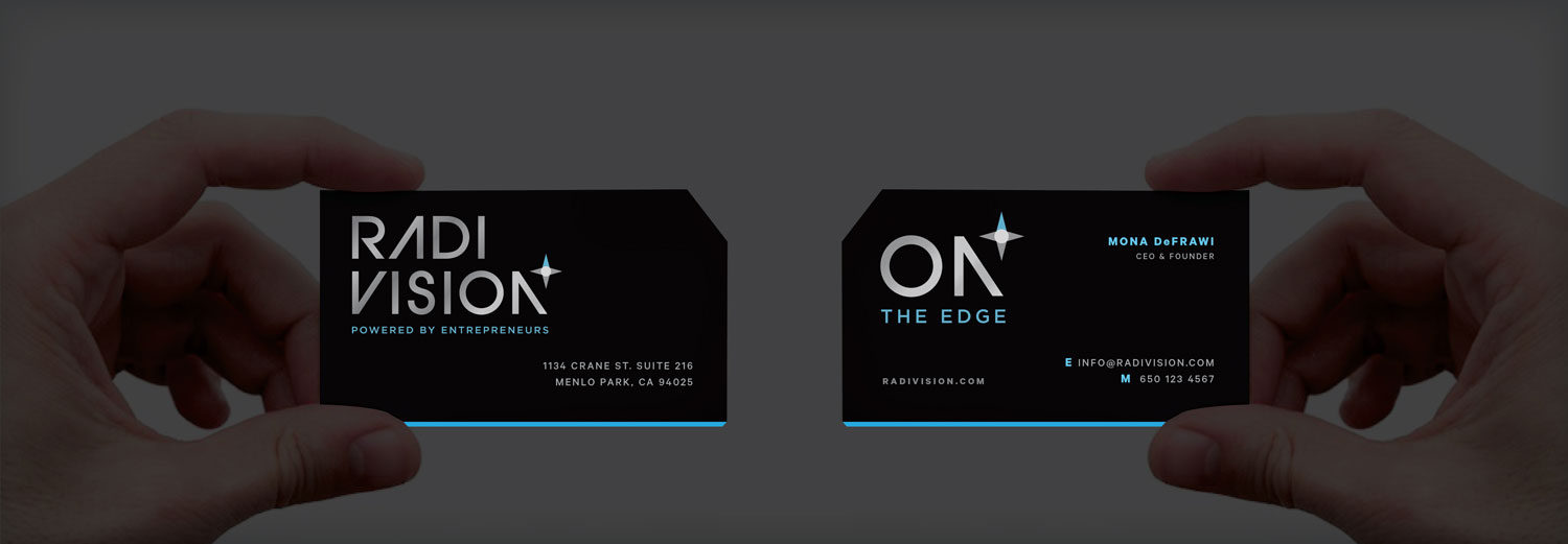 Business Cards with an edgy attitude.