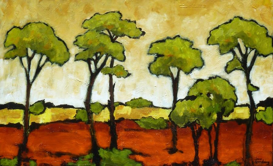 Acacia Grove Acrylic 36 x 60 SOLD