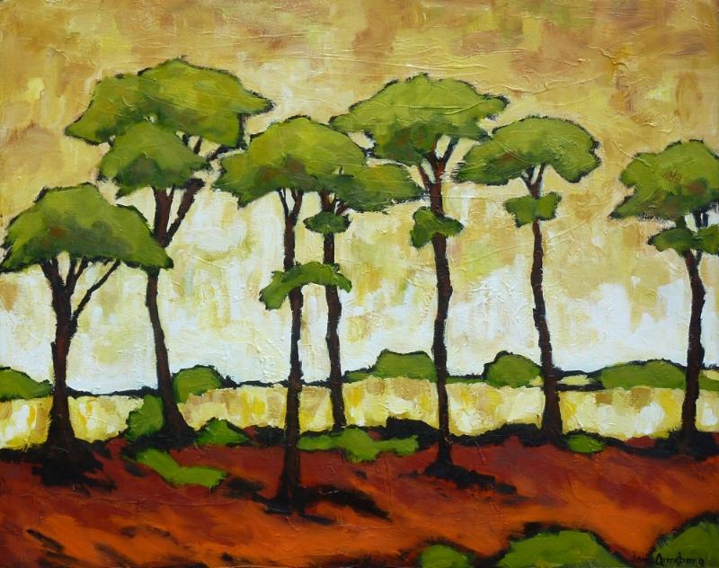 African Summer Acrylic 36 x 48