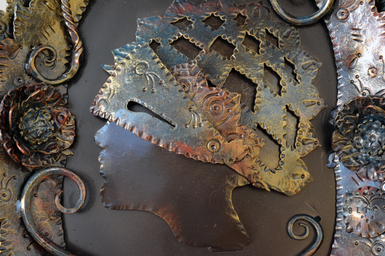 Three Steps Ahead Metal Sculpture