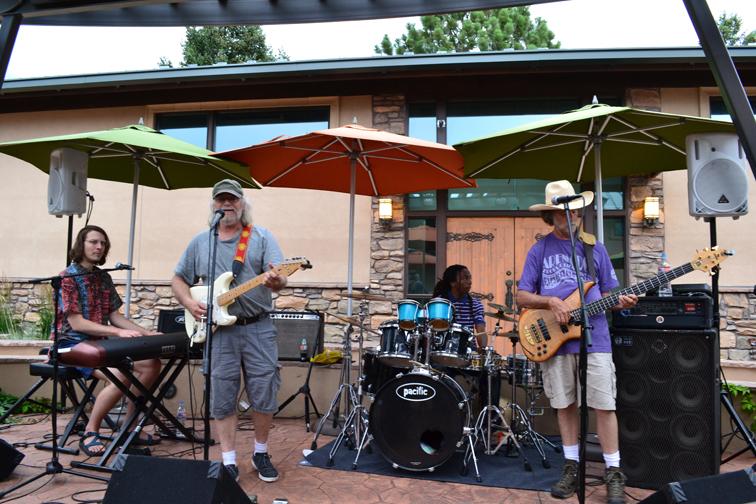 Art Hop July 17 Blue Frog