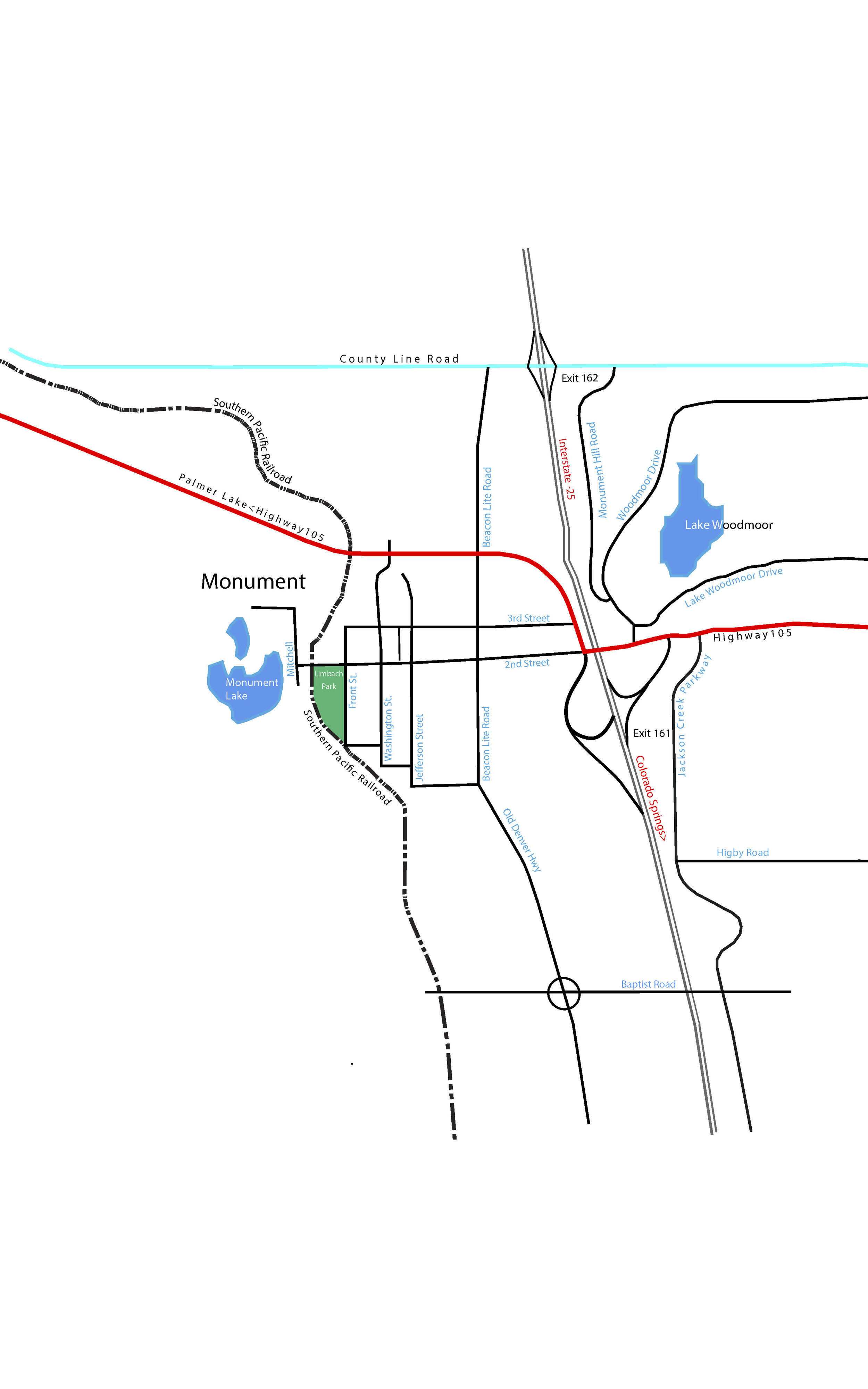 Map Provided by Tri-Lakes-Lakes Views - Sky Hall