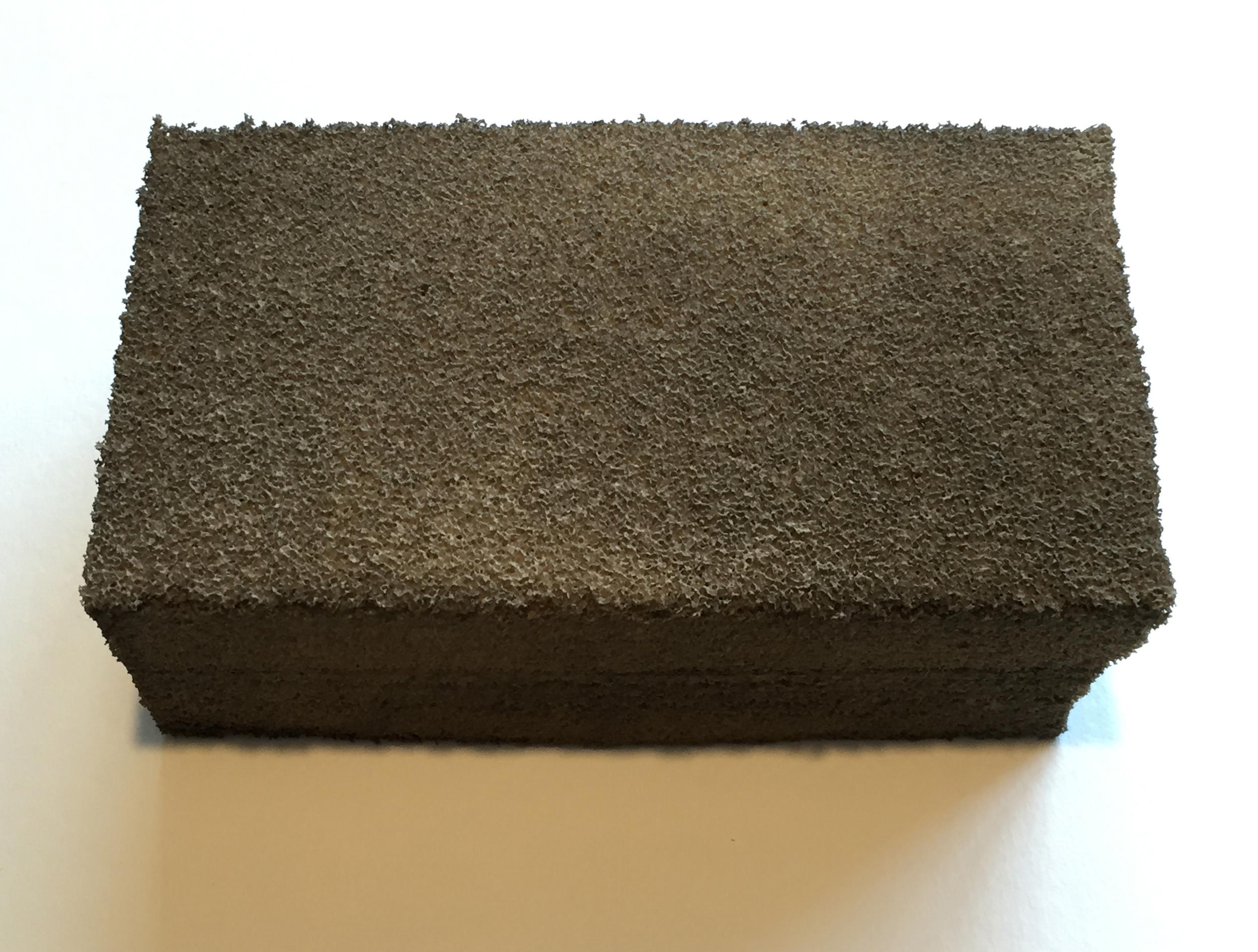 Dirty smoke sponge