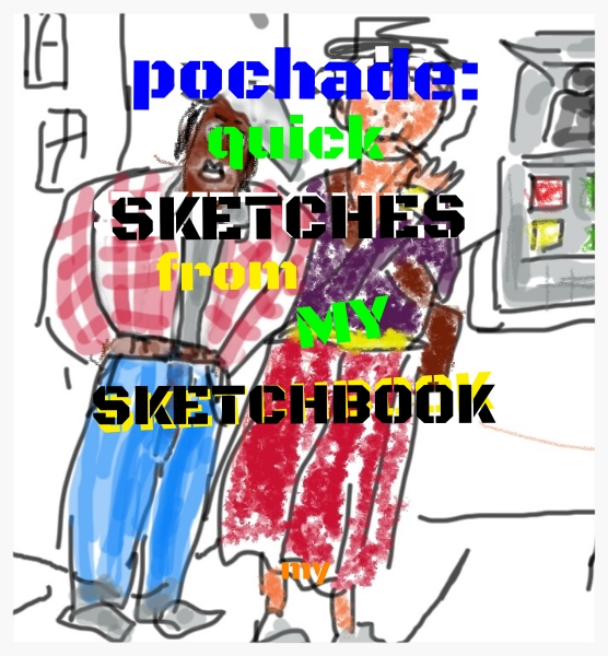 Pochard sketches sketchbook