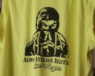 The official Almost Average Allstar T-shirts!