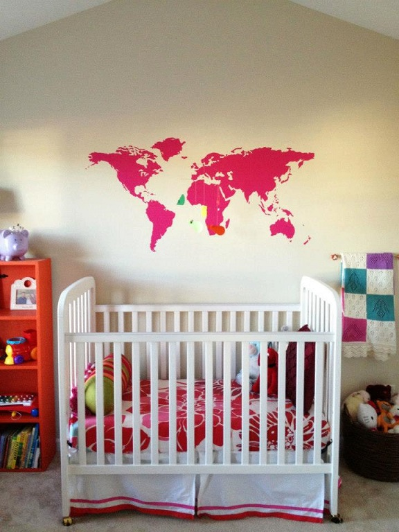 Thank you Griffin for sharing pictures of this beautiful nursery.