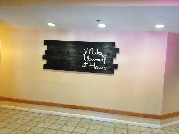 A big thanks to Kat for sharing the photos of custom, handmade signs we did for the Wyndham Hotel in Newport, RI.