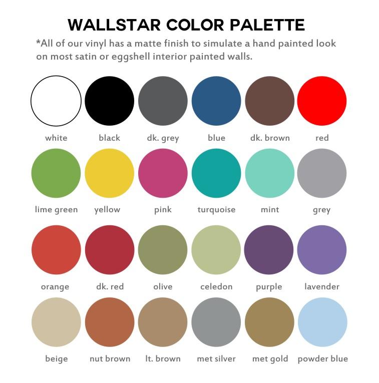 WALL ART vinyl sticker SQUARES RECTANGLES RETRO