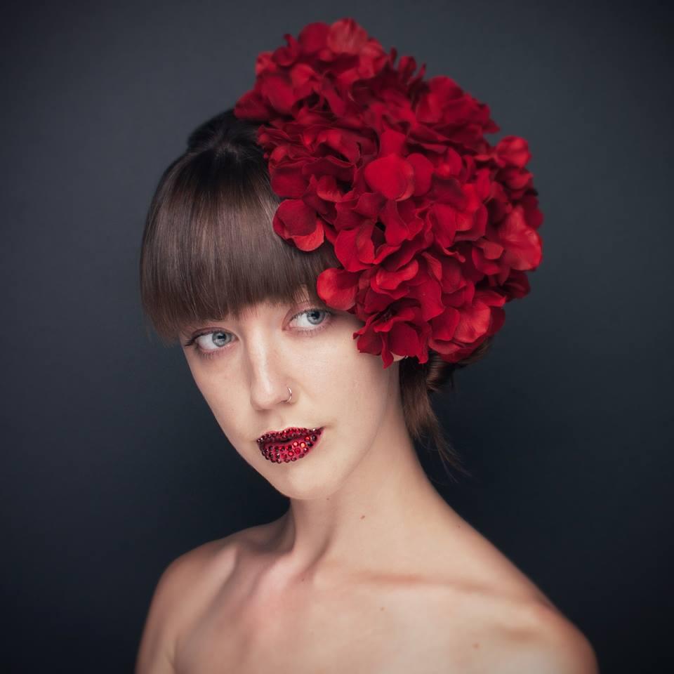 Ruby Lips  Model: Elsa McLaughlin Photographer: Paul Bisaillon