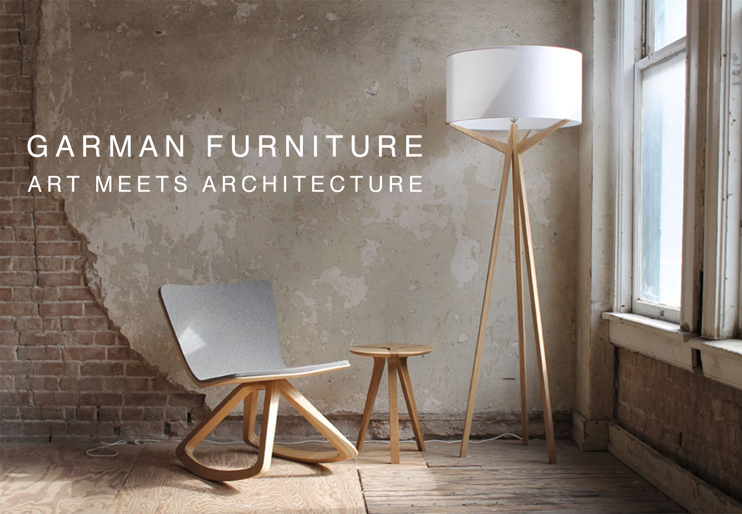 Garman Furniture. Art Meets Architecture.