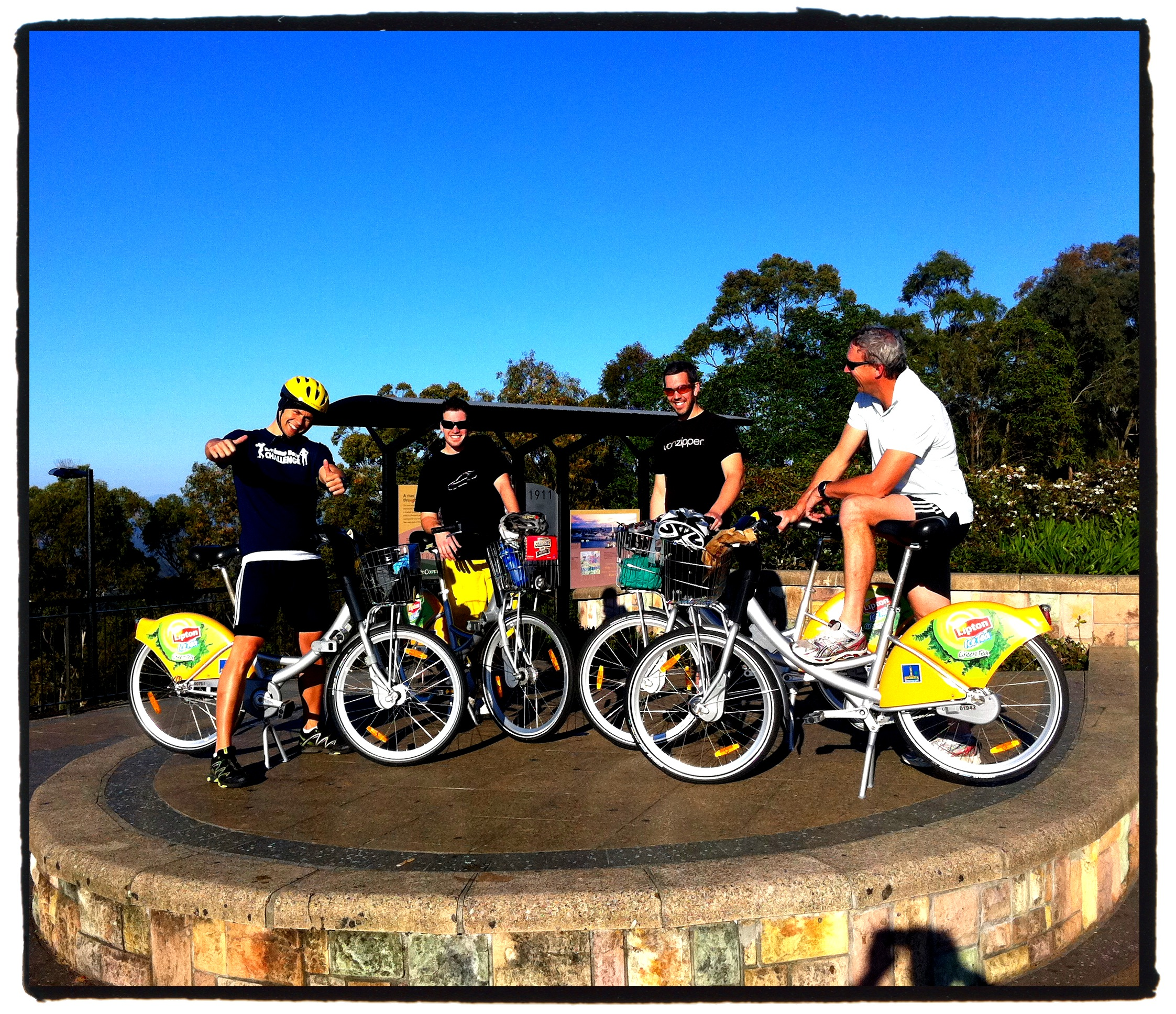 City Cycle cootha summit